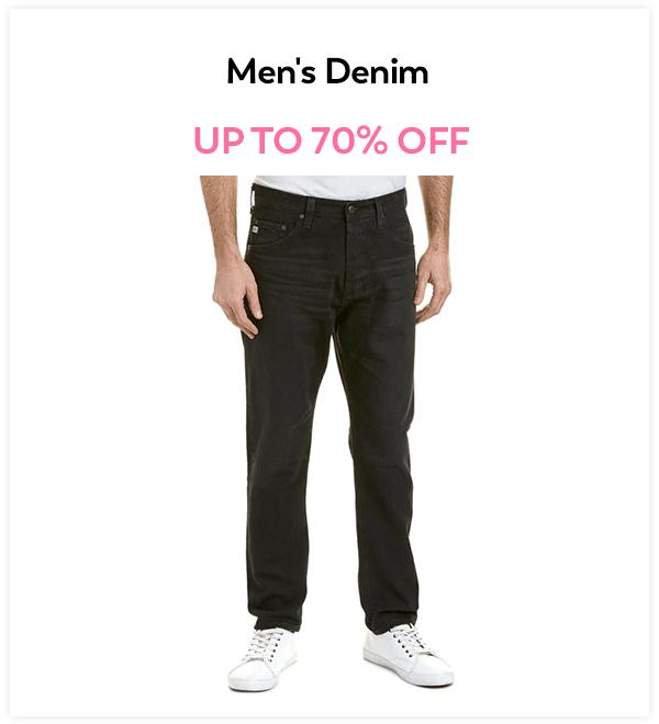 Up to 70% Off Men's Denim