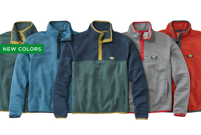 NEW COLORS. ABRASION RESISTANT. QUICK DRY. LIGHTWEIGHT.