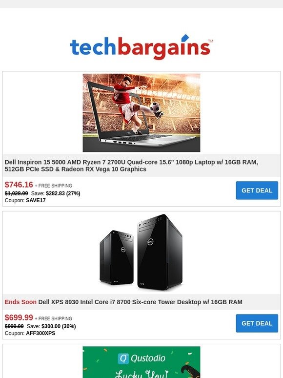 Techbargains: Weekend Deals: Highly-rated 65