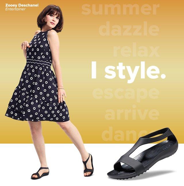 d329181fe Crocs  Meet Crocs Serena  Feminine. Stylish. Essential.