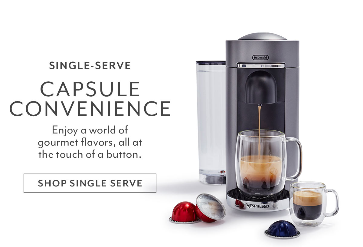 Shop Single Serve