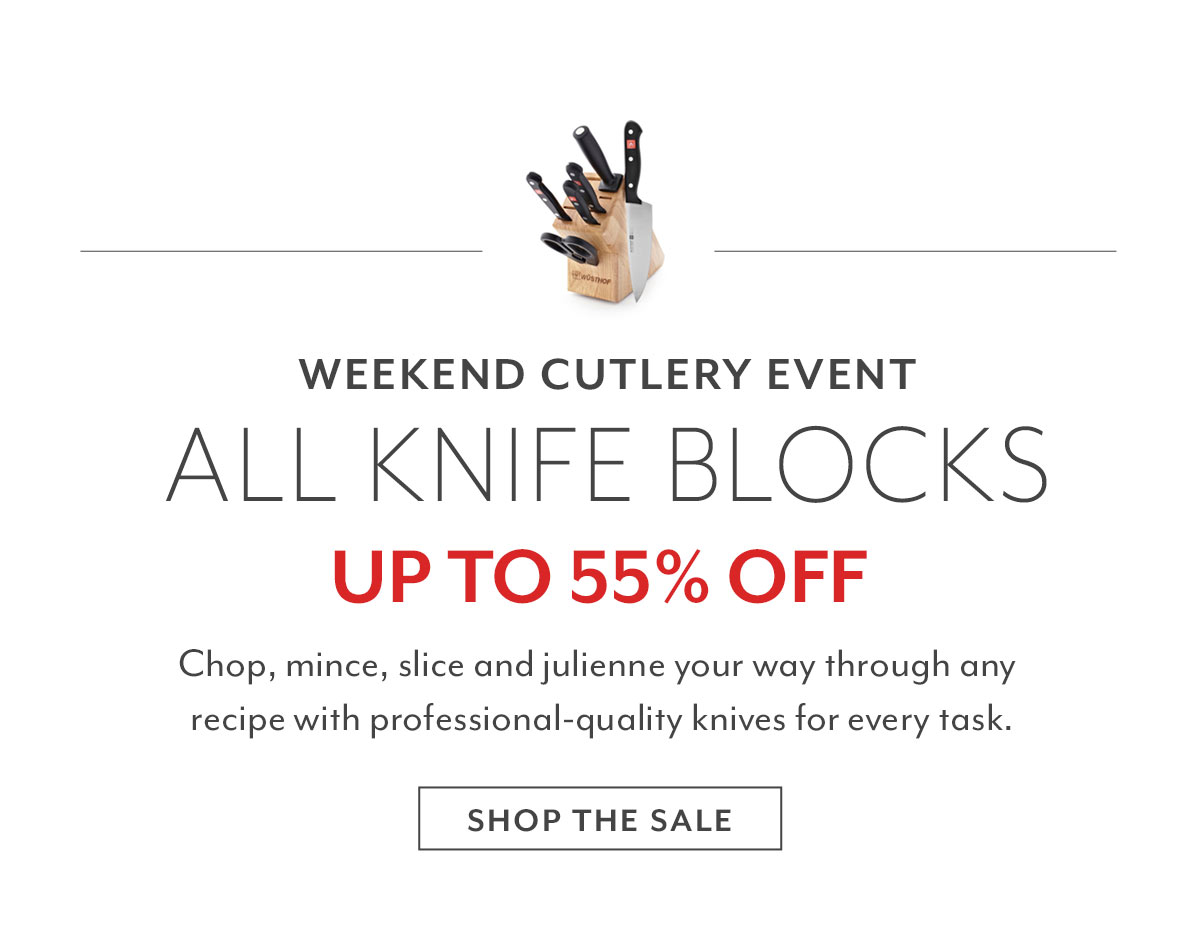 Weekend Cutlery Event