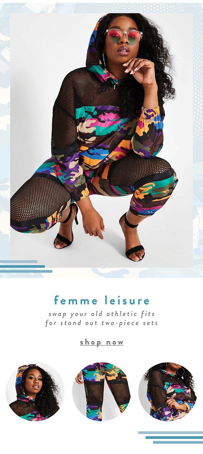 Femme Leisure - Shop Now