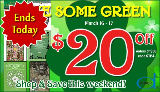 St. Patrick's Day Special: Save $20