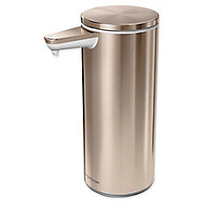 simplehuman® Rechargeable Sensor Soap Pump