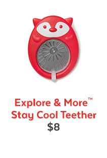 Explore & More™ | Stay Cool Teether | $8