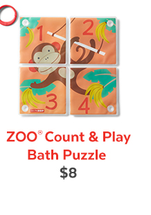 Zoo® Count & Play Bath Puzzle | $8