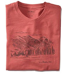 Lakewashed Organic Cotton Graphic Tee, Short-Sleeve.