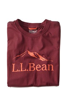 L.L.Bean Performance Graphic Tee, Short-Sleeve.