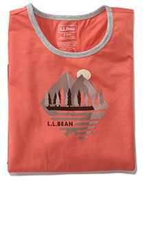 Women's L.L.Bean Graphic T-Shirt, Short-Sleeve.