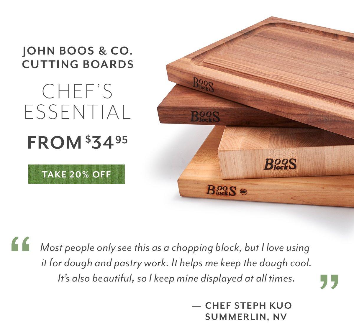 John Boos & Co. Cutting Boards