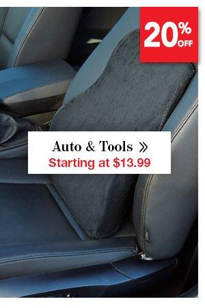 Shop Auto & Tools Starting at $13.99