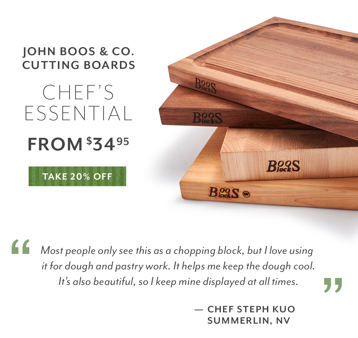 John Boos & Co. Cutting Boards