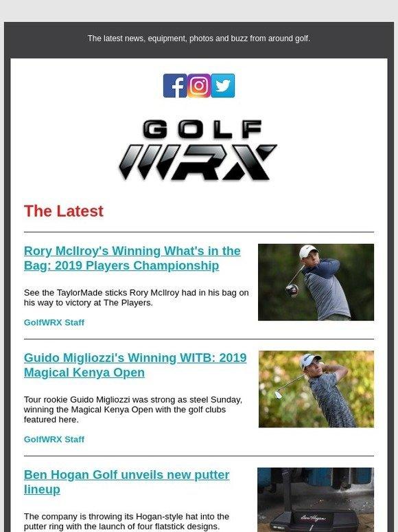 8f795257 Ishikawa: Rory McIlory's Winning WITB | New Ben Hogan putters | Important  GolfWRX announcement | Milled
