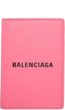Balenciaga - Pink Everyday Passport Holder