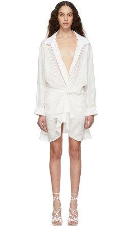 Jacquemus - Off-White 'La Robe Alassio' Dress