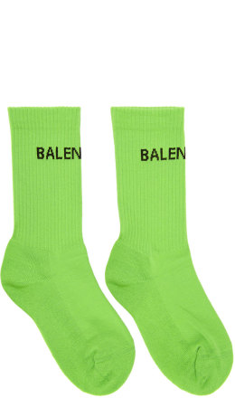 Balenciaga - Green Tennis Socks