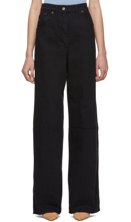 Jacquemus - Navy 'Le Pantalon Prago' Jeans