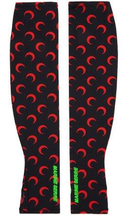 Marine Serre - Black & Red Moon Arm Warmers