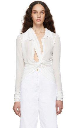 Jacquemus - White 'La Chemise Bellagio' Shirt