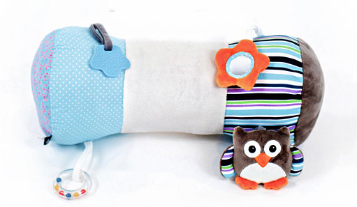 Nuby Little Fox Tummy Time Pillow