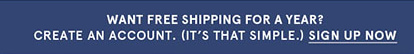 Want Free Shipping