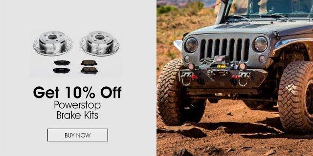 10% Off Powerstop Brake Kits