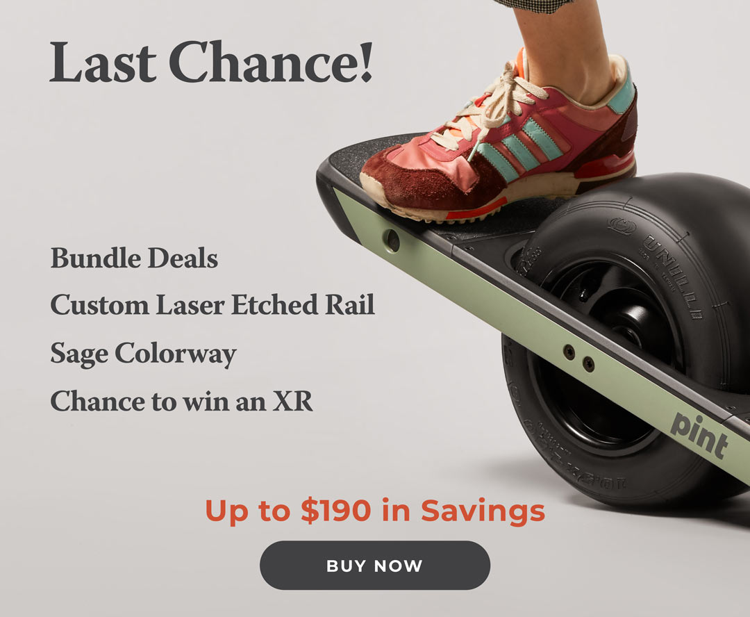 Onewheel XR: The last chance for deals on Pint  | Milled
