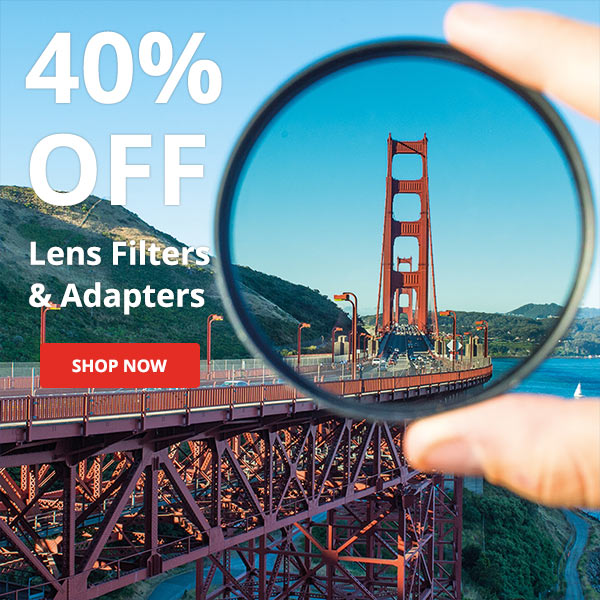 Save up to 40% on Filters and XUME Adapters
