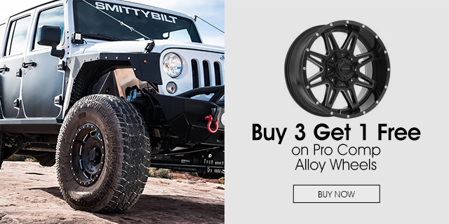 Buy 3 Get 1 Free on Pro Comp Alloy Wheels