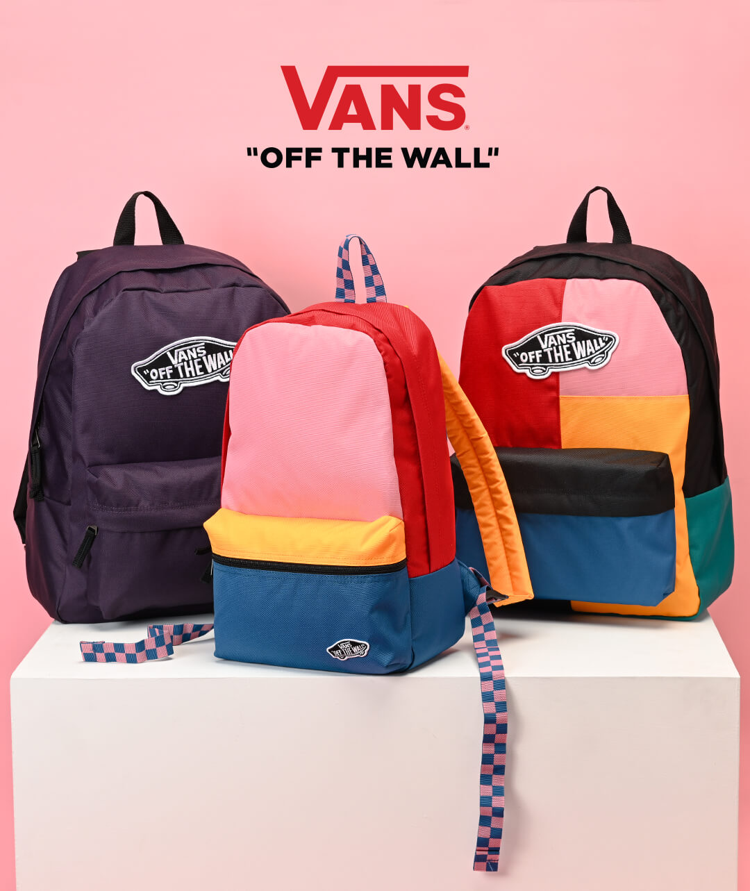NEW ARRIVAL BACKPACKS FEAT. VANS & MORE - SHOP NEW BACKPACKS