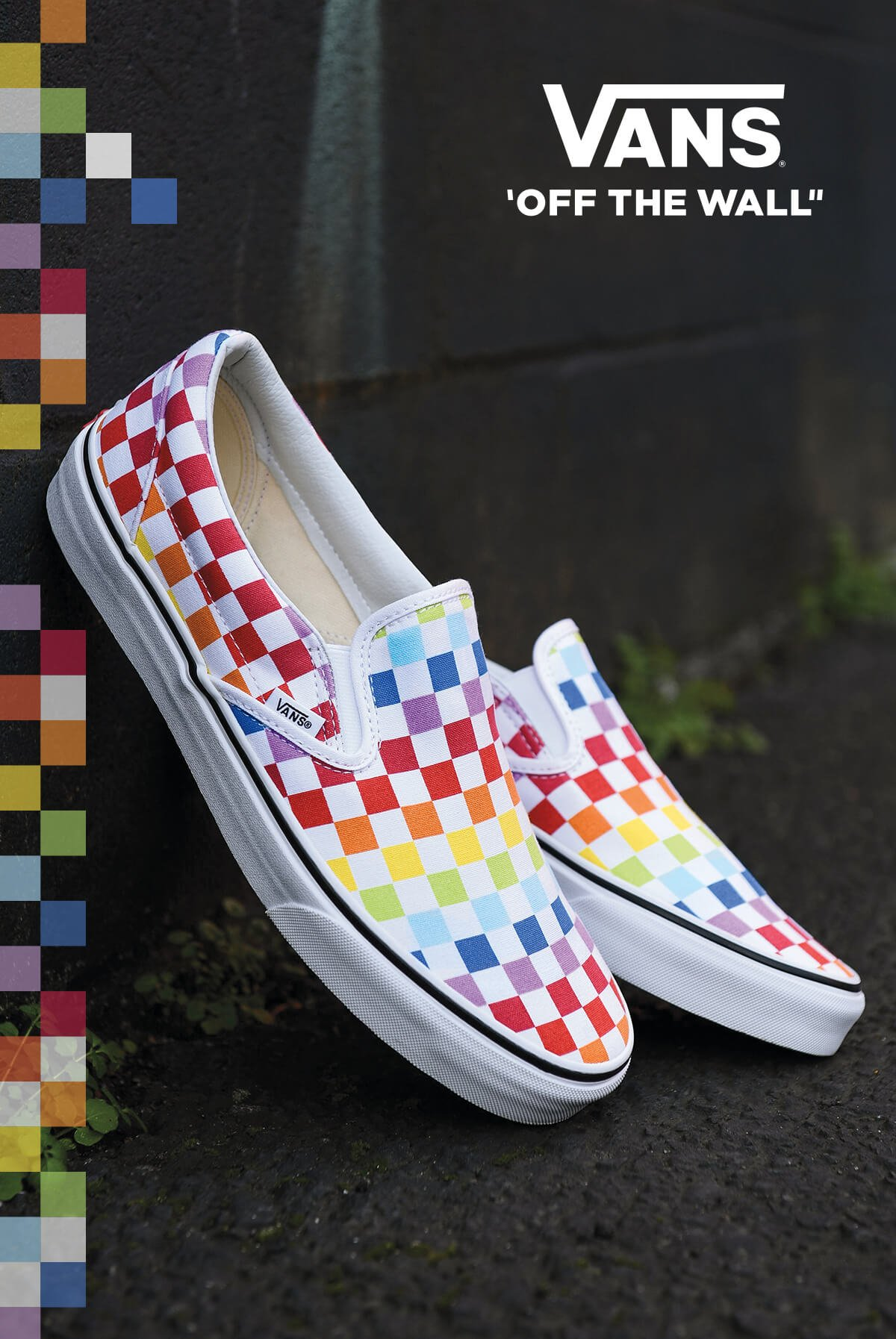 NEW FOOTWEAR ARRIVALS FEATURING NEW RAINBOW CHECKERS & MORE - SHOP NEW VANS NOW