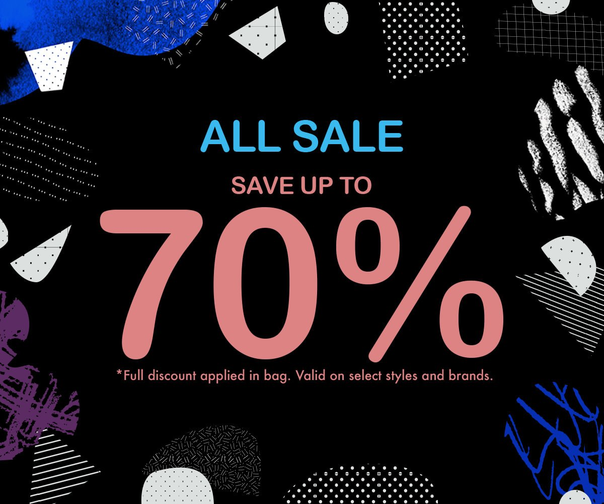 UP TO 70% OFF SALE - SHOP NOW