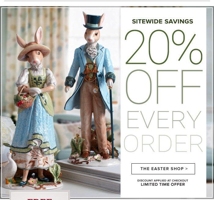 Sitewide Savings