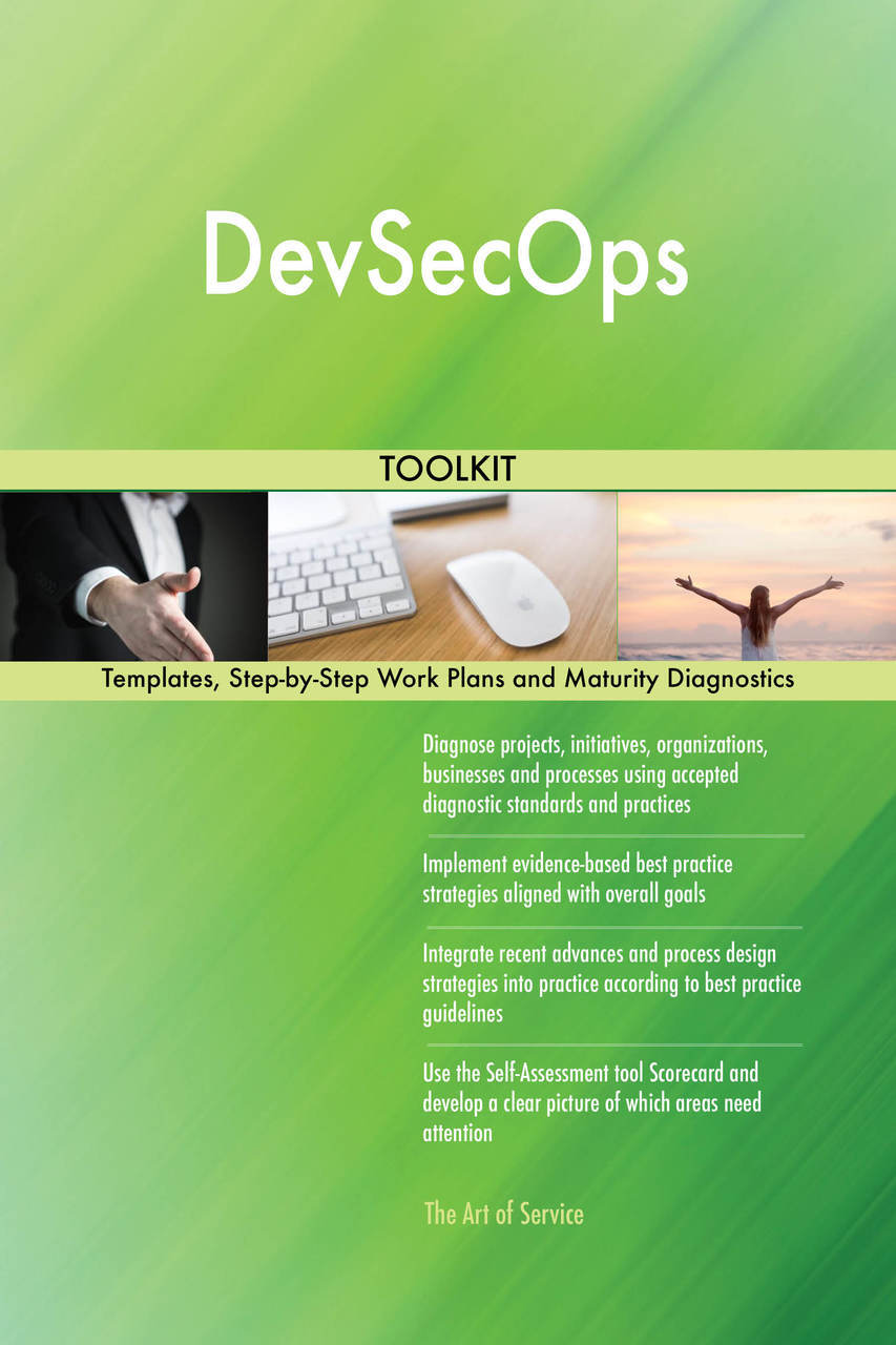 The Art of Service: DevSecOps Standard Requirements: | Milled