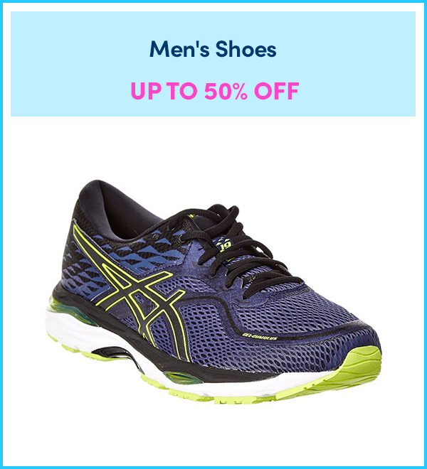Up to 55% Off Men's Shoes