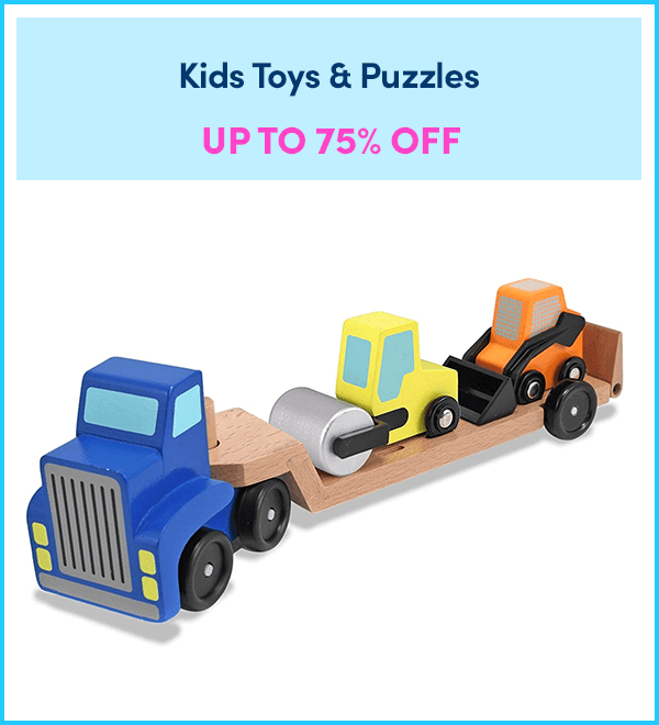 Up to 75% Off Kids Toys & Puzzles