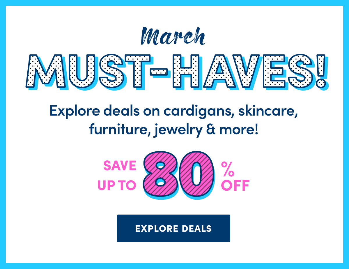March Must-Haves!