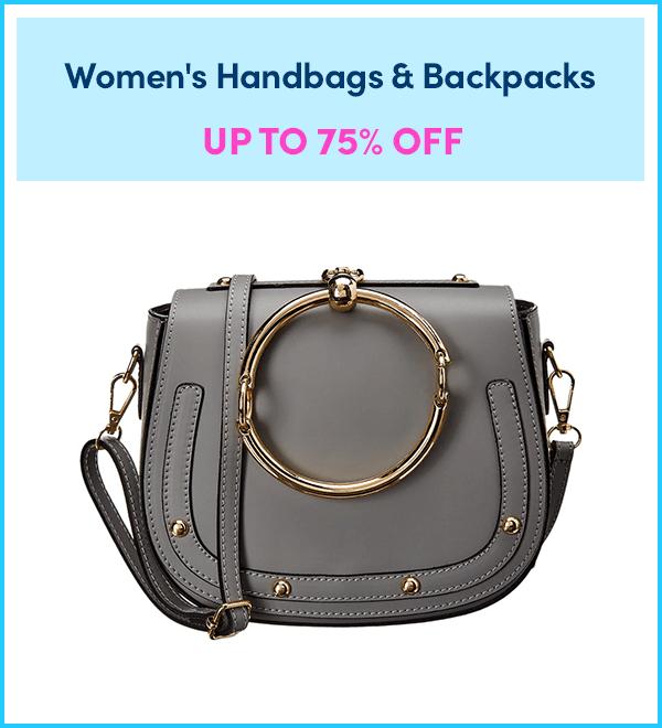 Up to 75% Off Women's Handbags & Backpacks
