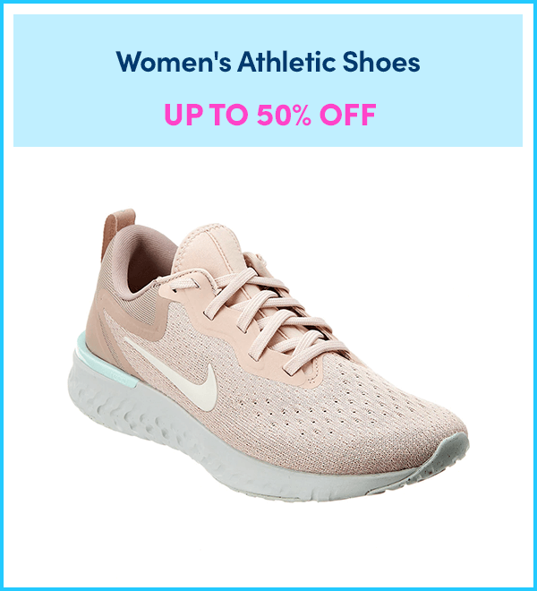 Up to 50% Off Women's Athletic Shoes