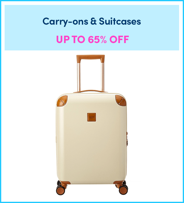 Up to 65% Off Carry-ons & Suitcases