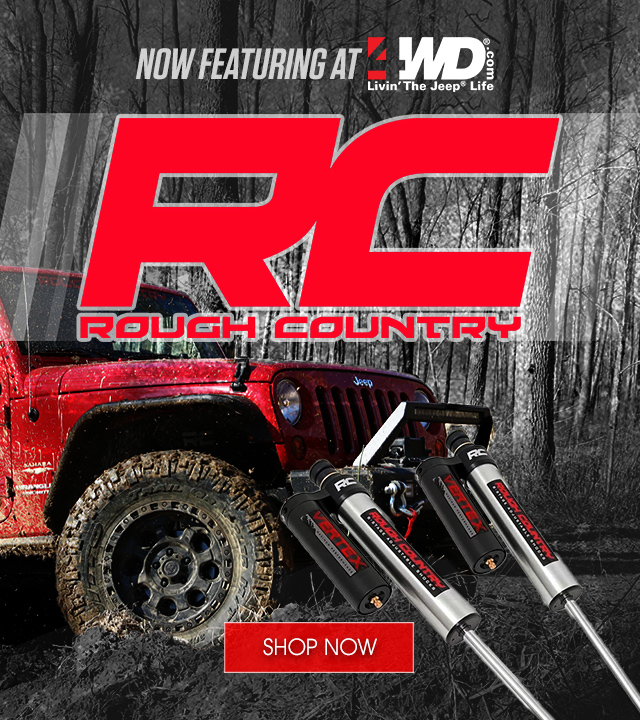 Now Featuring - Rough Country Suspension