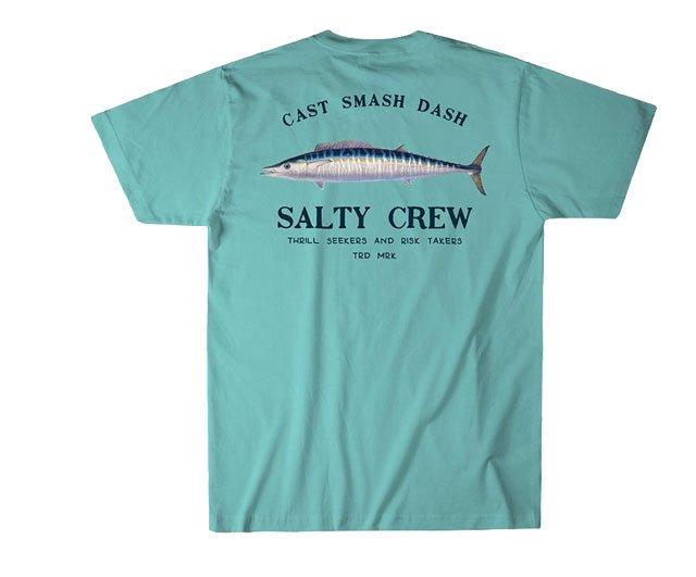 newest 0199b 6253d Salty Crew Striper Short Sleeve T-Shirts