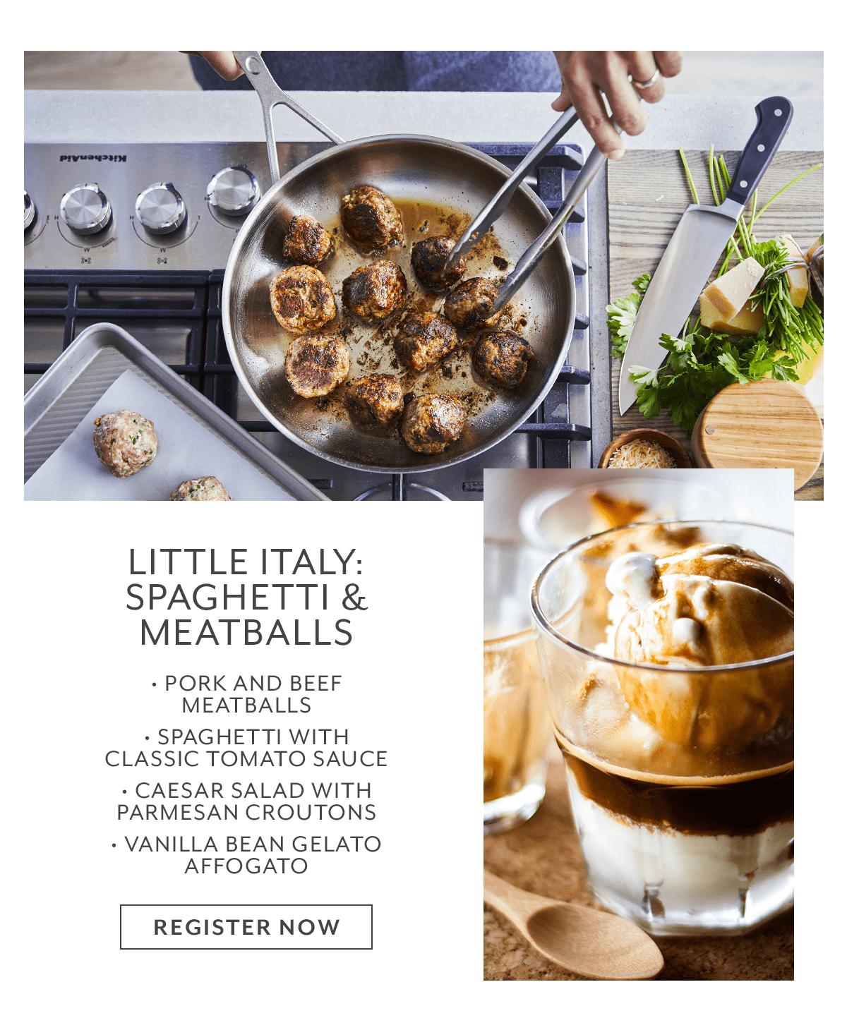 Class - Little Italy • Spaghetti and Meatballs