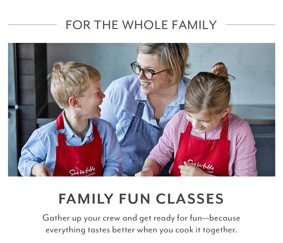 Family Fun Classes