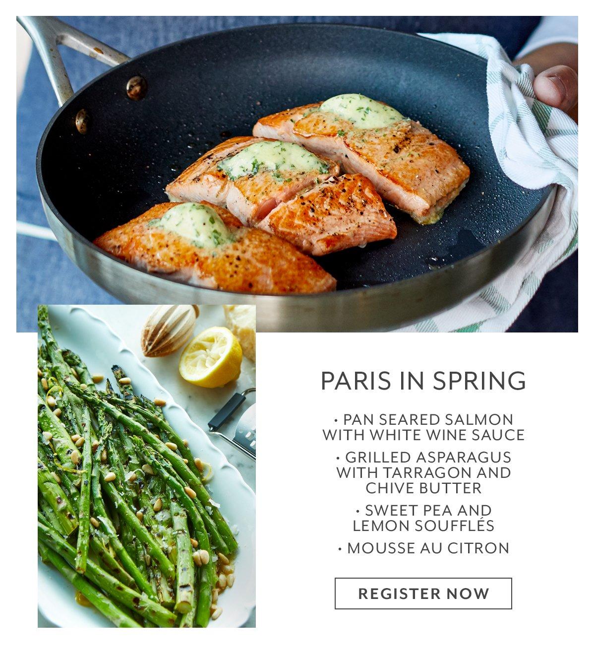 Class - Paris in Spring