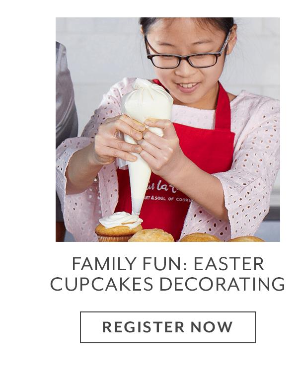 Class - Family Fun • Easter Cupcakes Decorating