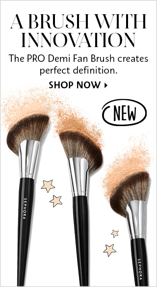 A Brush With Innovation - Sephora Collection PRO Demi Fan Brush