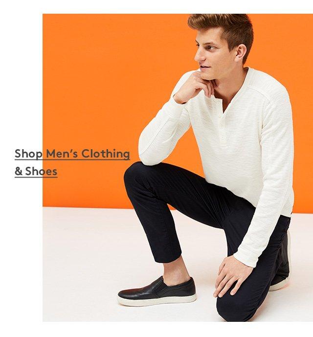Shop Men's Clothing & Shoes