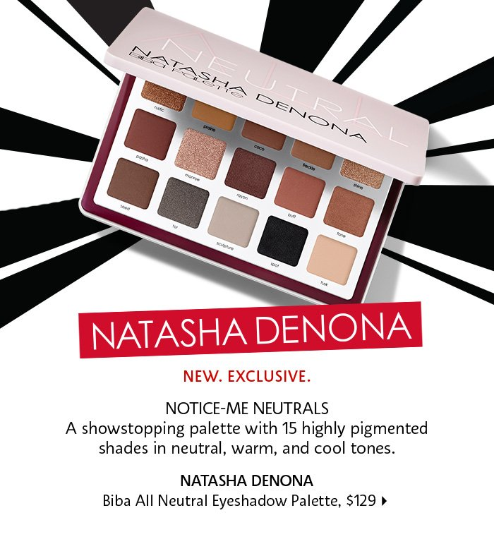 Natasha Denona Biba All Neutral Palette